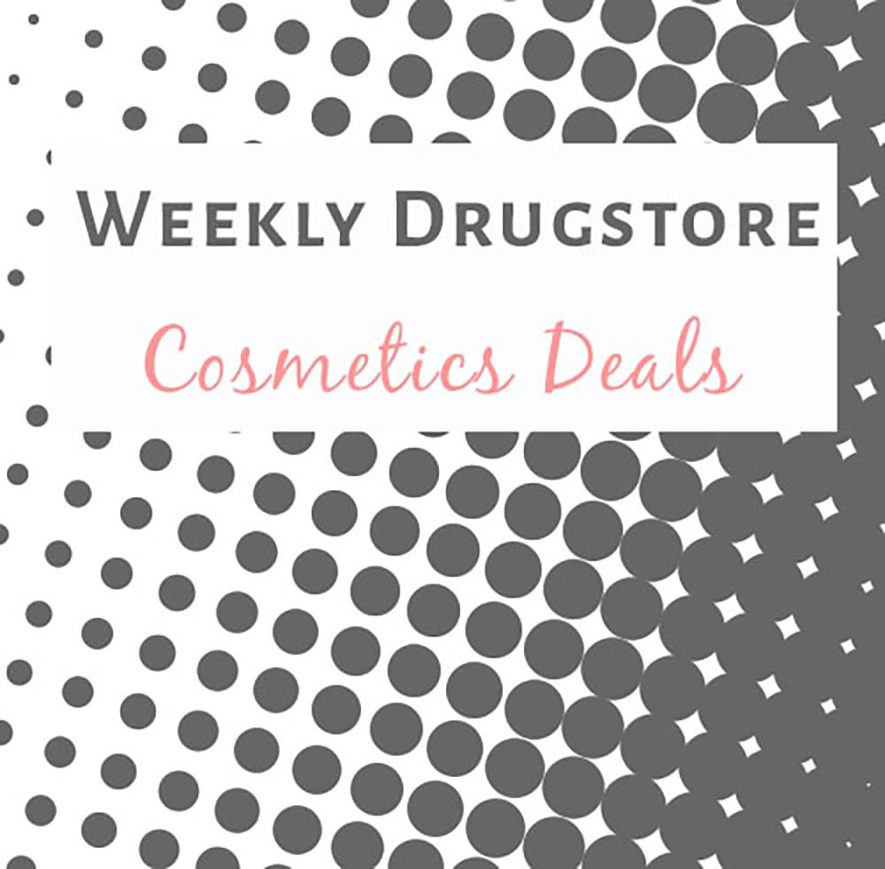 Deal Alert: Weekly Drugstore Cosmetics Sales