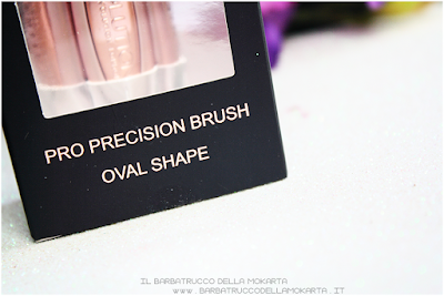recensione review pro precision  oval brush makeup revolution