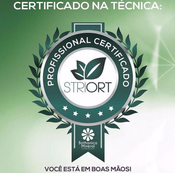 Certificado na técnica Striort - Tratamento contra Estrias