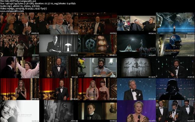 Descargar Premios Oscar 2012 Edicion 84 HDTV Ingles