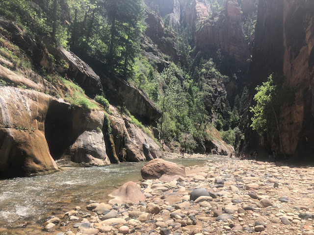 Hike the Narrows in Chacos at Zion National Park