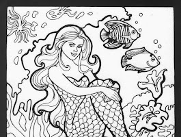 H2o Just Add Water Coloring Pages Free