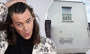 Grafitean la casa de Harry Styles y sus fanáticos reaccionan.