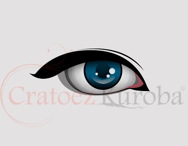 membuat vector mata