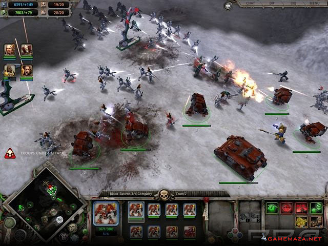 Warhammer 40000 Dawn of War Gameplay Screenshot 2