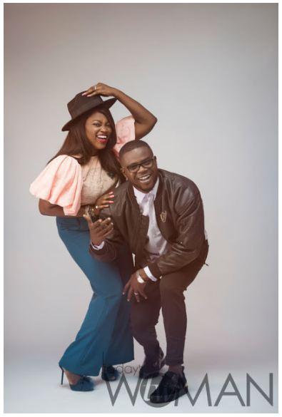 Funke Akindele & Husband, JJC Skillz Cover Today's Woman Magazine (Photos)