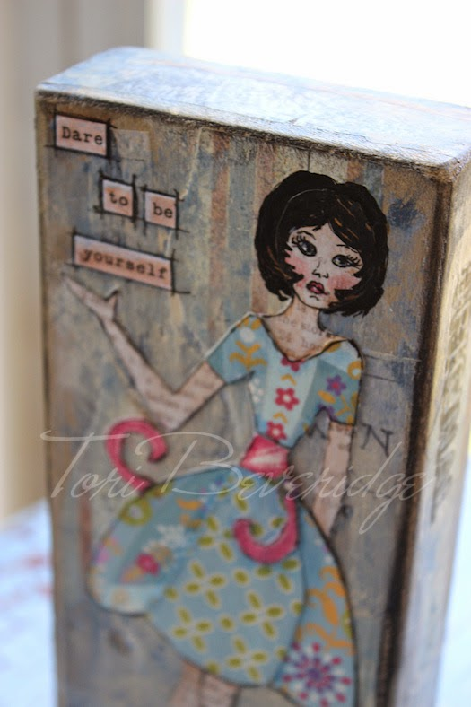 Be Yourself Inspiration Block by Tori Beveridge 1