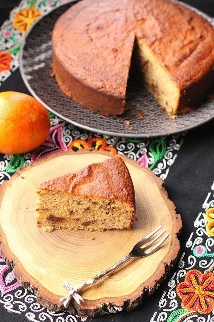 gateau oranges amandes sans beurre sans farine