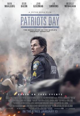 Patriots Day, película, cine, cartelera, día de patriotas, hechos reales, maratón de Boston, nos vamos al cine,