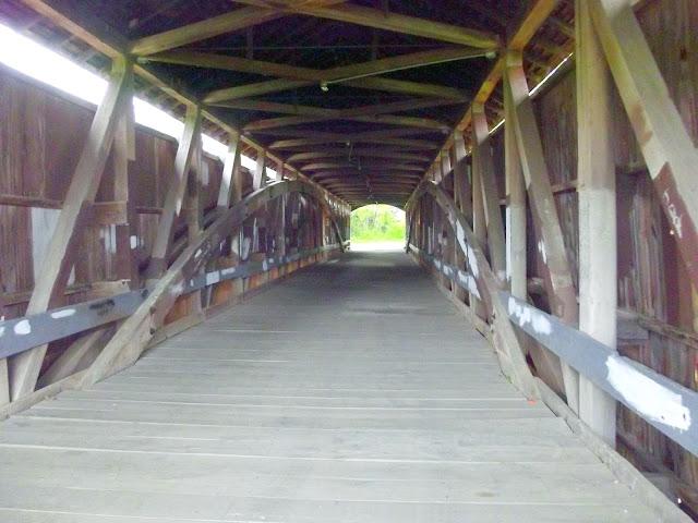 Mecca Covered Bridge - Interior Construction