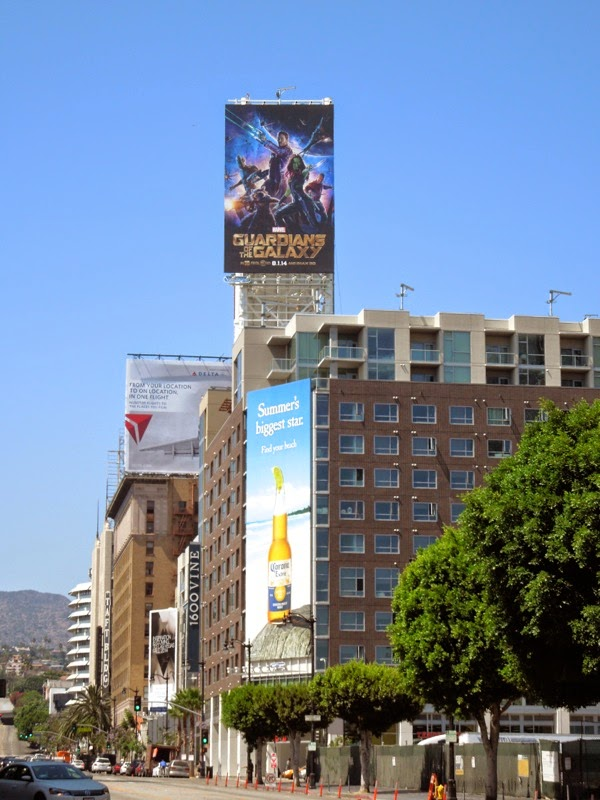 Guardians of the Galaxy billboard
