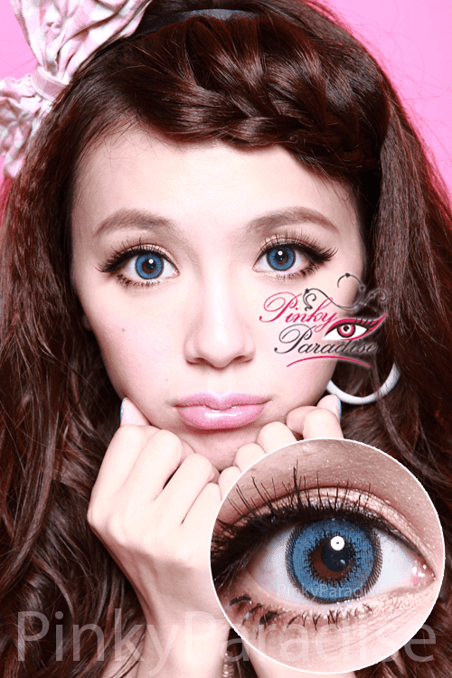 G&G Aloha Blue Circle Lenses (Colored Contacts)