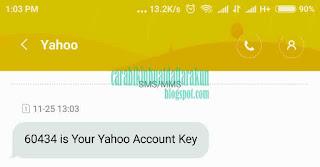 Cara Daftar Yahoo