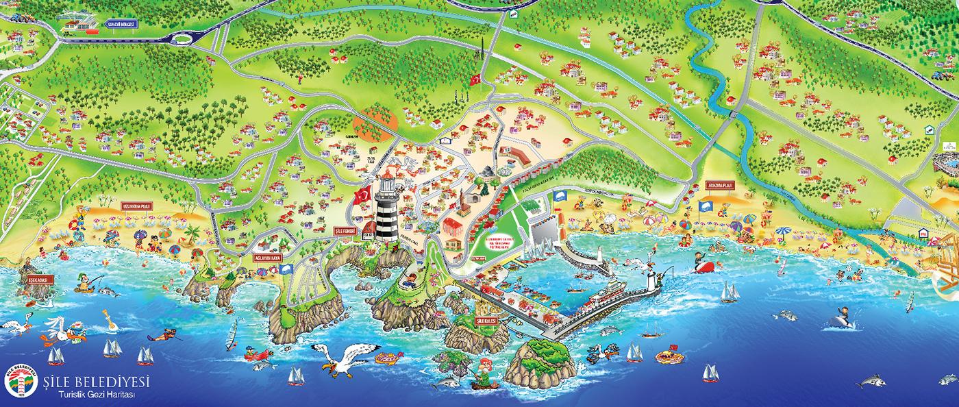 Şile Köy Listesi