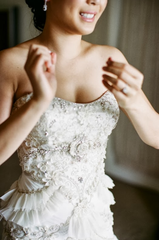 vestido joya de novia