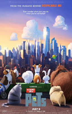 Sinopsis Film The Secret Life of Pets