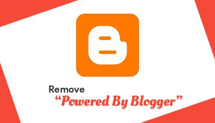 Blogger Blog Se Powered By Blogger Attribution Ko Kaise Remove Kare