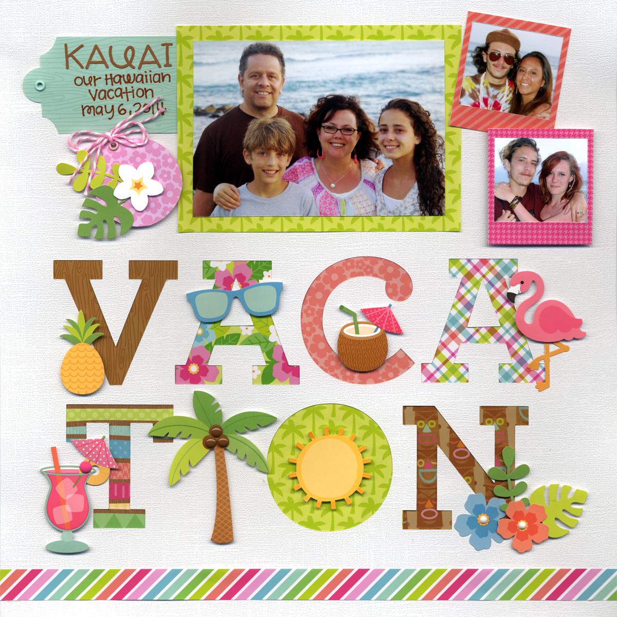Summer vacation scrapbook ideas - Tuesday May 17 2016