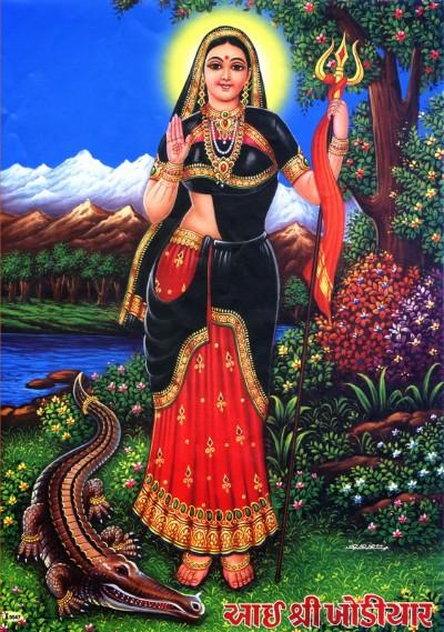 Hindu Goddess kodhiyar pic