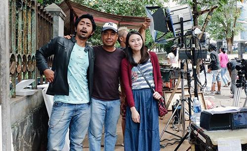 Dedeh dan Sobri di Lokasi Syuting
