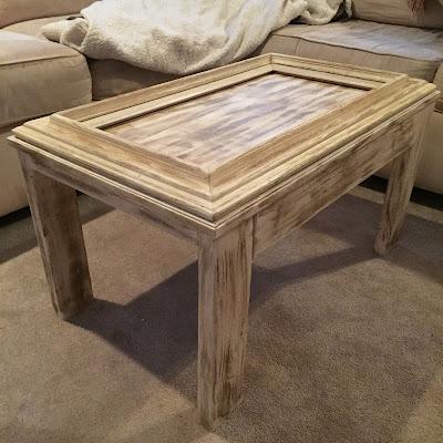 Drew Danielle Design: Picture Frame Coffee Table