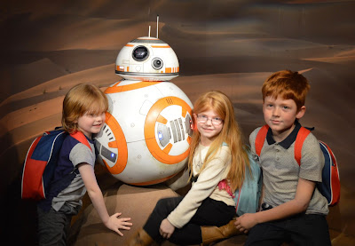 Madame Tussauds London including Star Wars,  A Review - BB-8 on Jacoo