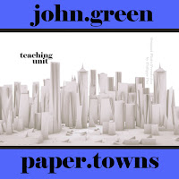 PAPER TOWNS Unit Teaching Package (by John Green)  An illuminating teaching unit for John Green's young adult novel Paper Towns. 150+ pages of activities that are sure to engage middle school students and high school English students. Plot, Conflict, Characters, Writing Journals, Pop Quizzes, Vocabulary, Figurative Language, Activities, Poem Analysis, Essay lesson plans by Created for Learning
