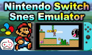 PSNES Emulator For Switch + 767 SNes Games