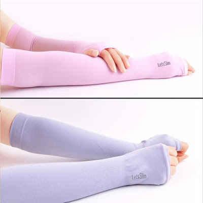 11,5k - Găng tay chống nắng UV Hàn Quốc Aqua X & Let's Slim giá sỉ và lẻ rẻ nhất
