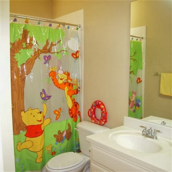 cartoon pictures for kids bathroom