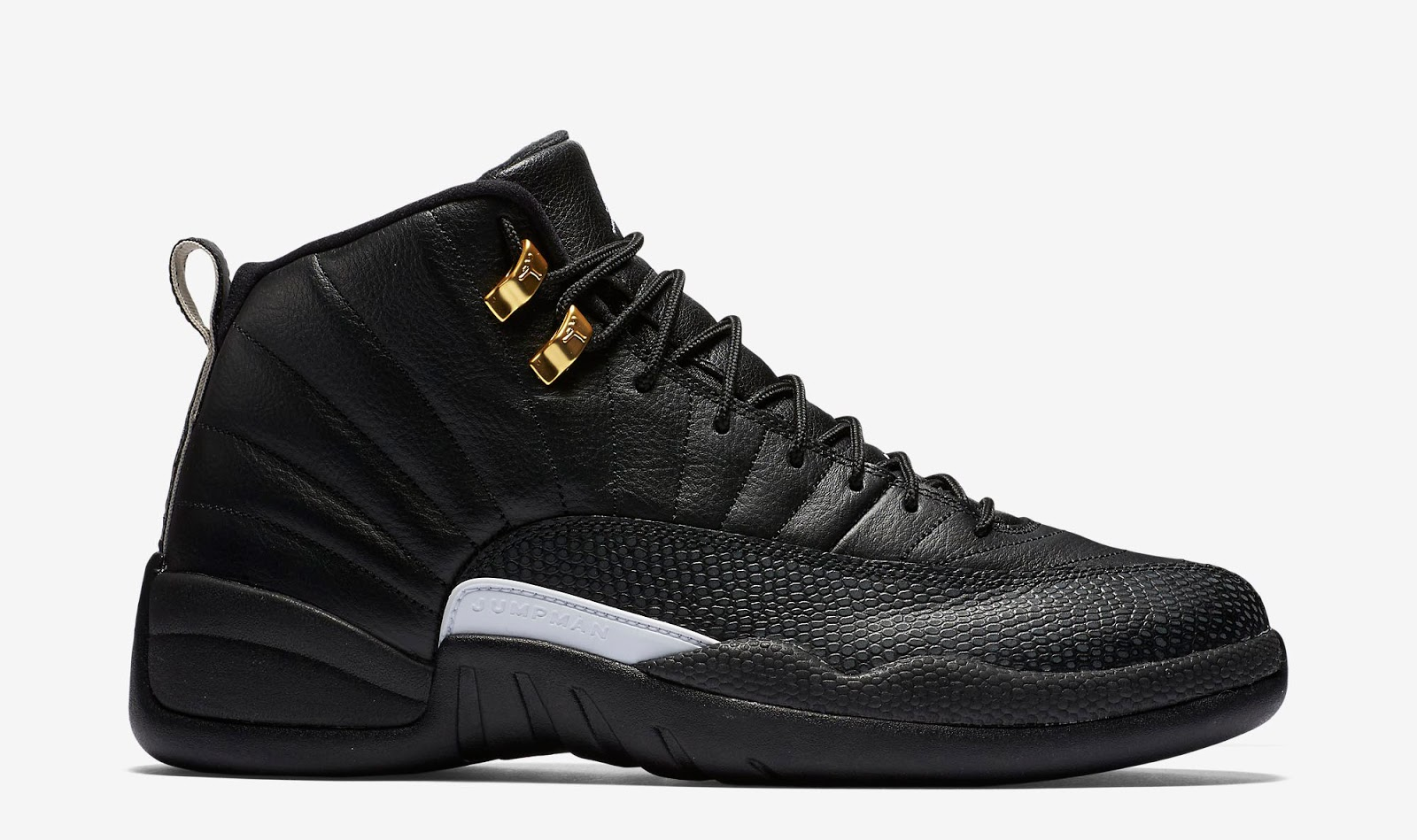 ajordanxi your 1 source for sneaker release dates air jordan 12 retro the master black white. Black Bedroom Furniture Sets. Home Design Ideas
