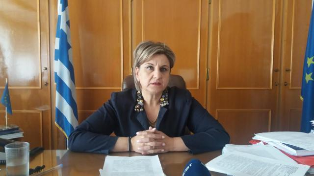 Τι αναφέρει η Ελένη Αλειφέρη για τις εξελίξεις στην Περιφέρεια Πελοποννήσου