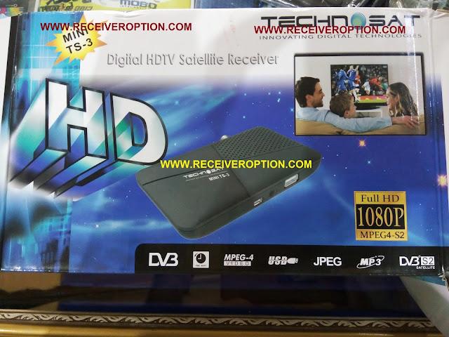 TECHNOSAT MINI TS-3 HD RECEIVER BISS KEY OPTION