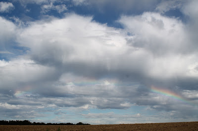 paysage, ciel, rainbow,