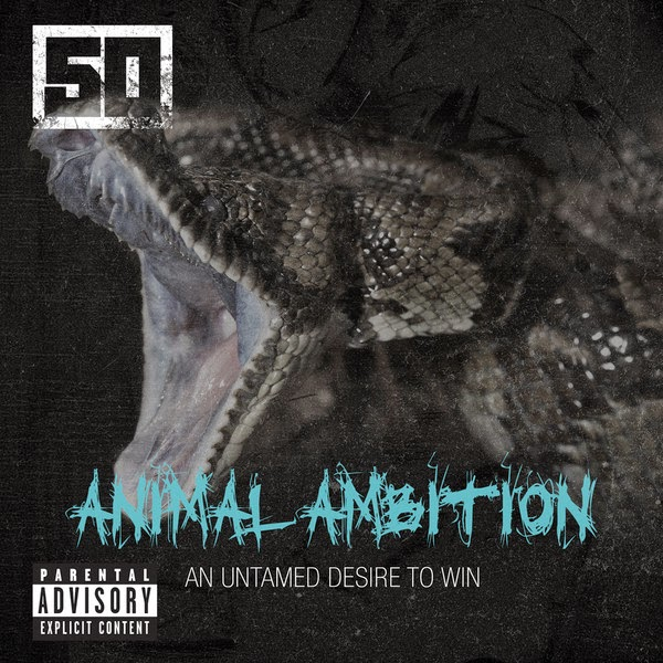 50 Cent - Animal Ambition - Single  Cover