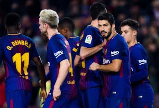 Барселона – Жирона  Онлайн трансляция 23.09.18г