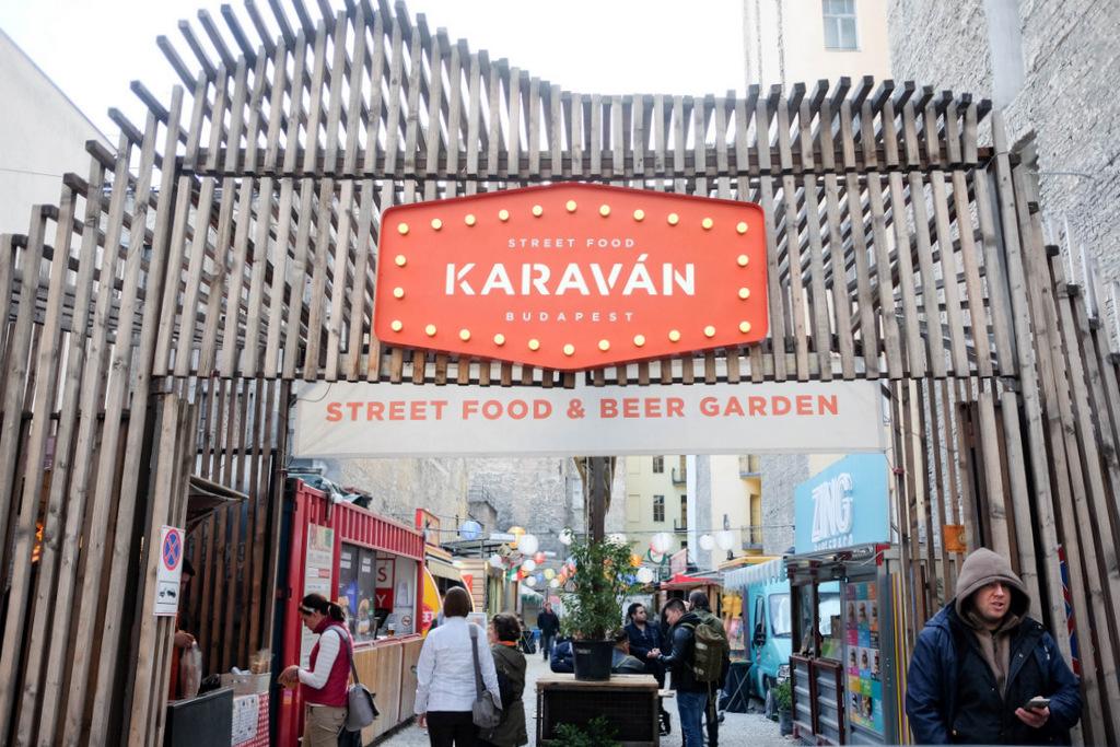 karavan street food @ budapest, hungary
