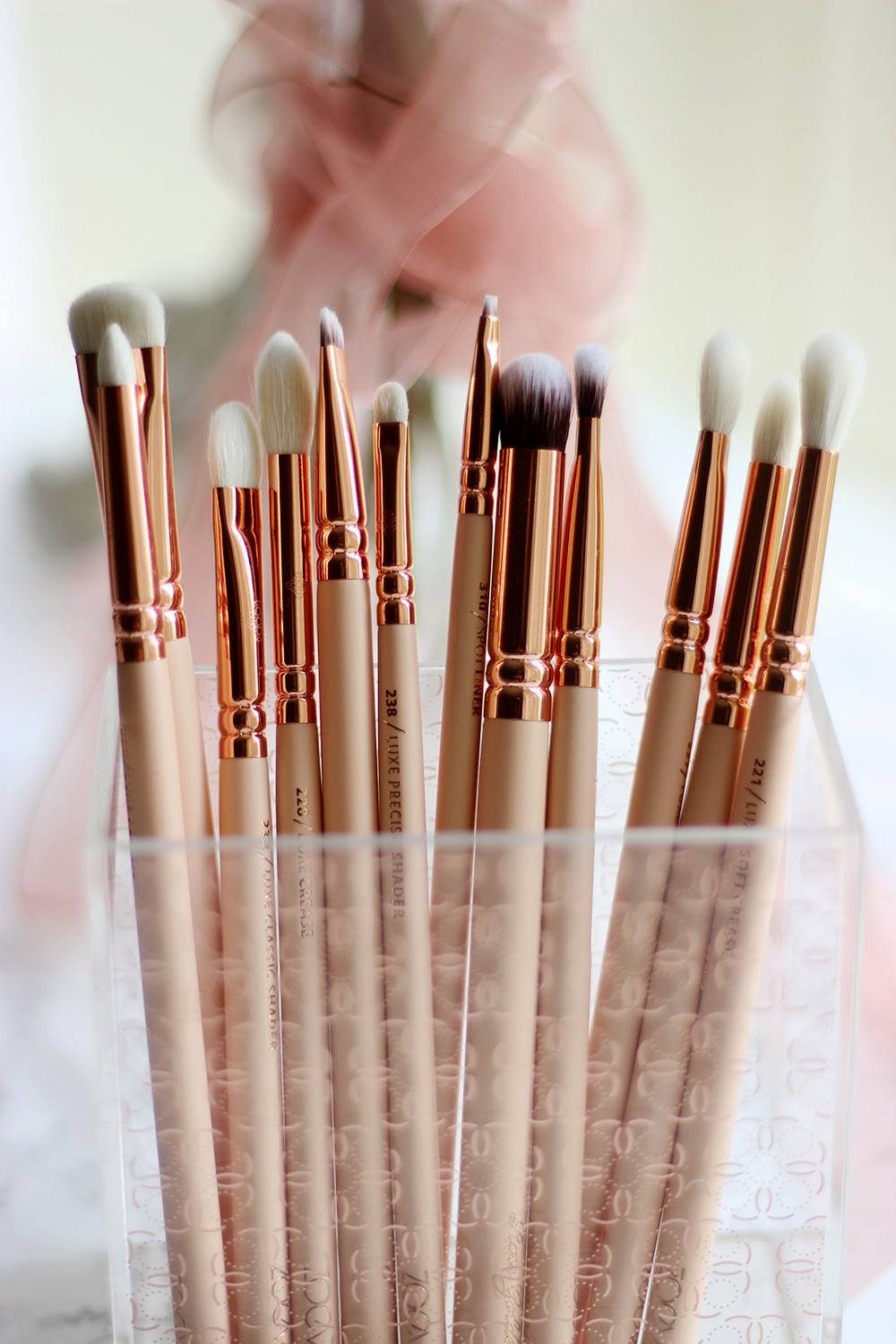 Makeup Brushes And What They Are Used For: Zoeva Rose Golden Eye Set