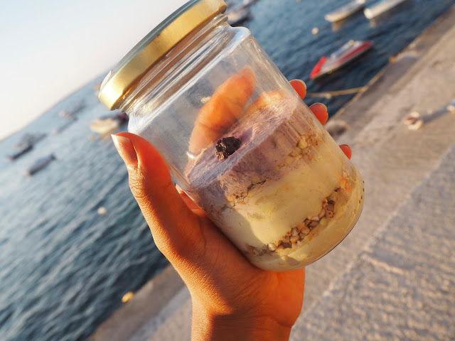 vegan cheesecake in a jar malta