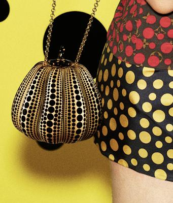 Yayoi Kusama x Louis Vuitton Pumpkin Bag