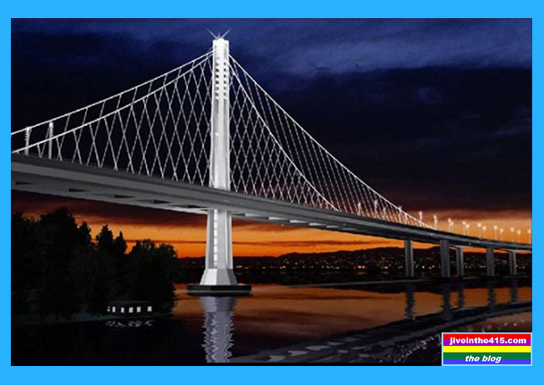 San Francisco Oakland Bay Bridge New Eastern Span Rendering