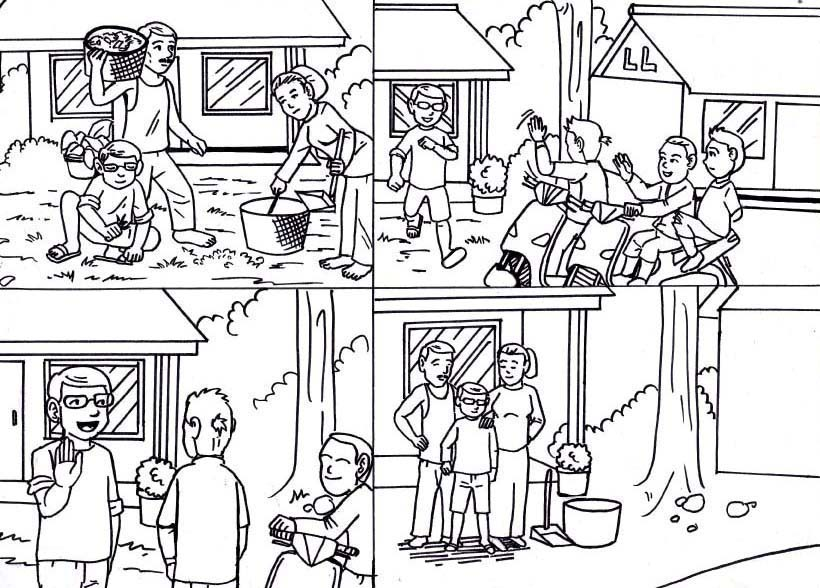 Mirzan Blog S 25 Trend Terbaru Gambar Kartun Anak Sd Kerja Bakti
