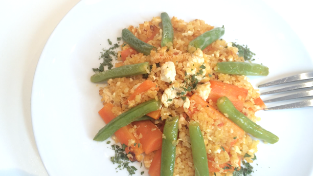 Tofu Couscous Stir Fry recipe Yvonne Dzifa