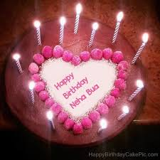 Happy Birthday Neha Cake
