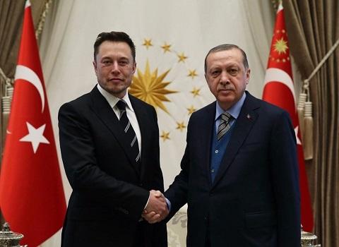 elon musk erdogan ile bulustu