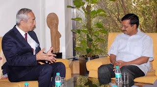 CM Kejriwal and Ambassador of Japan discusses mutual cooperation in Infra projects
