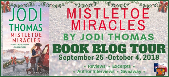 Mistletoe Miracles book blog tour promotion banner