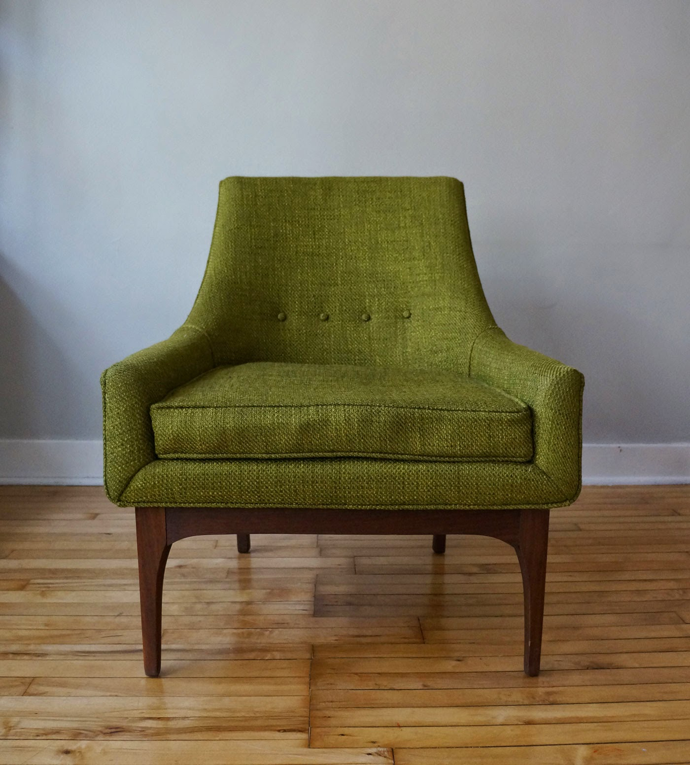 This Green Chair Is Delightful, Image Found Here.