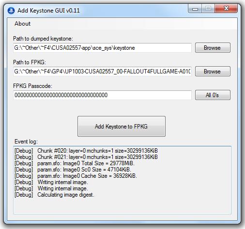 PS4 Add Keystone GUI FPKG Files by RoosterTeethForLife
