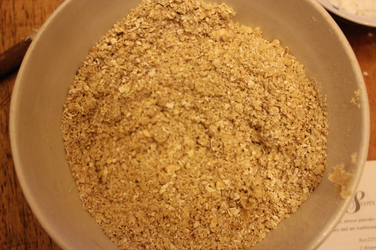 making organic Scottish oatcakes